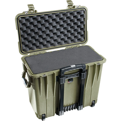 pelican 1440 green laptop foam case