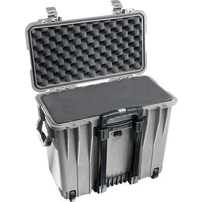 pelican 1440 silver rolling foam case