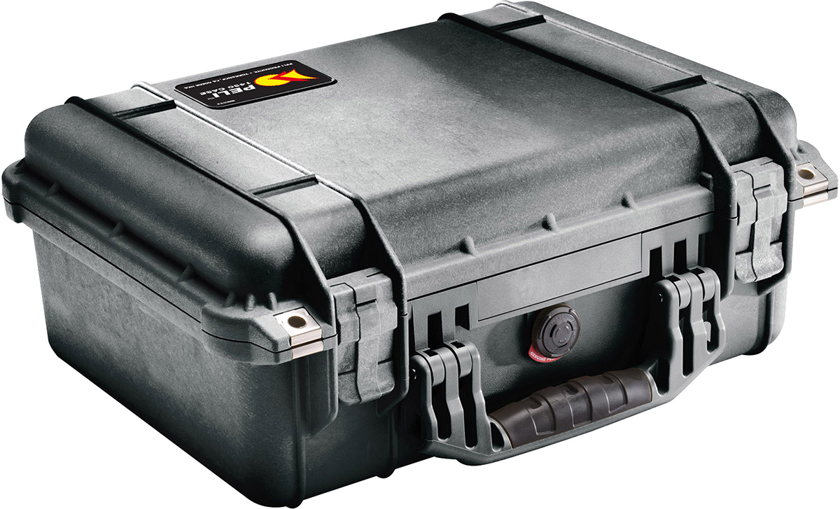 pelican 1450 watertight hard camera case pelicase