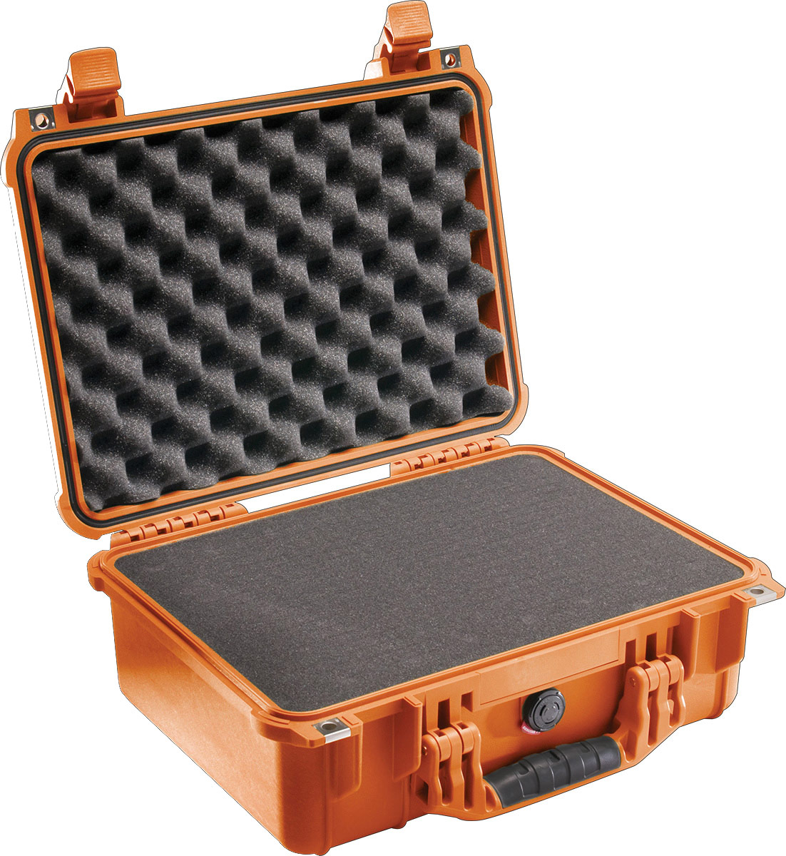 pelican 1450 orange foam protector equipment case