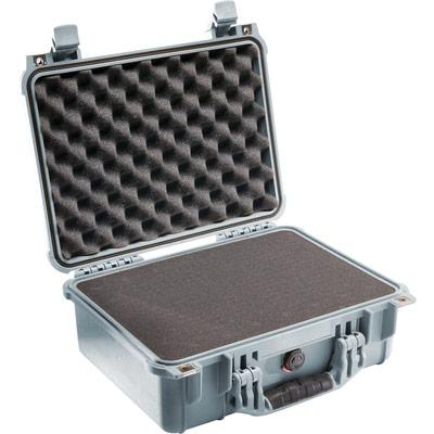 pelican 1450 silver hardware case