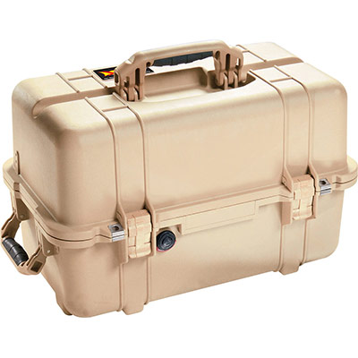 peli 1460 desert tan photography case