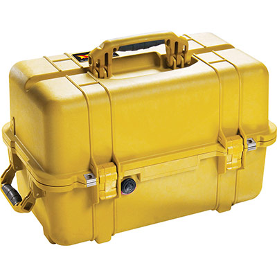 peli 1460 tool yellow storage organizer