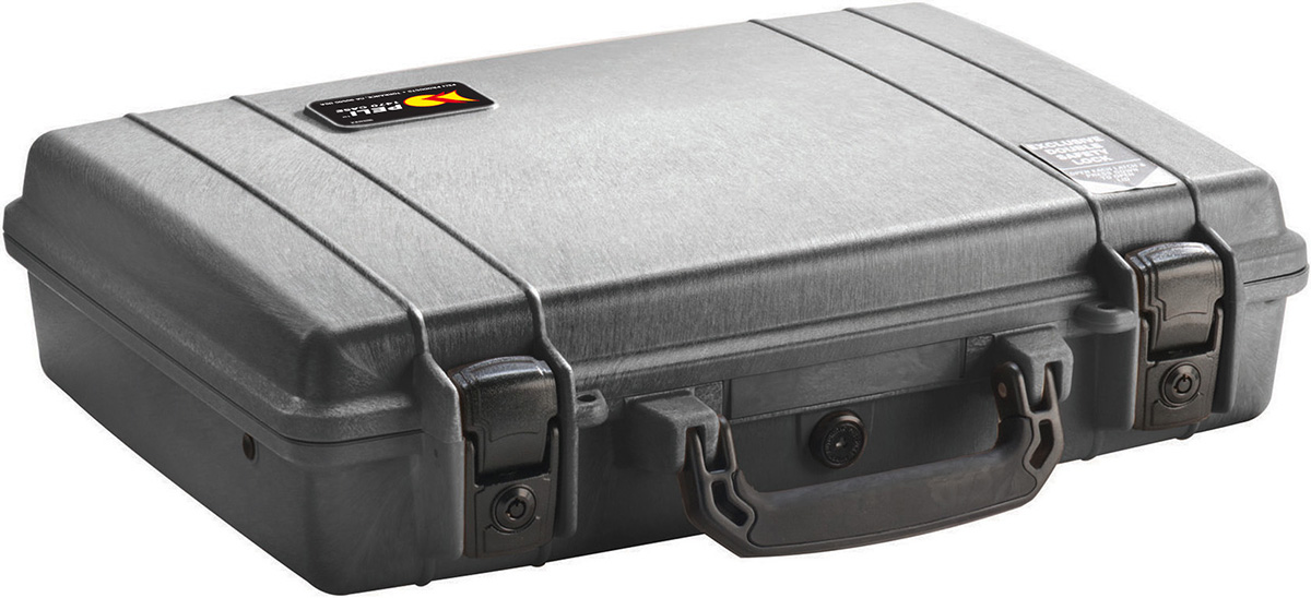 peli hard laptop brief case briefcase