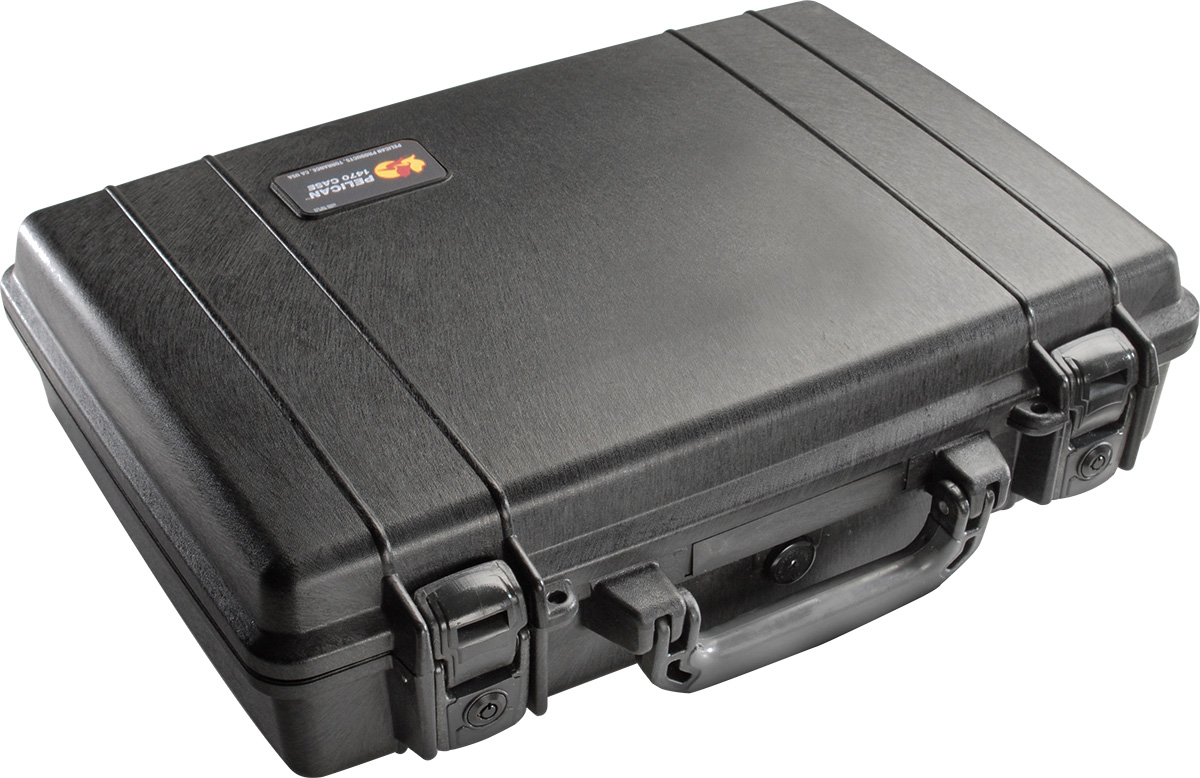 pelican hard case watertight laptop briefcase