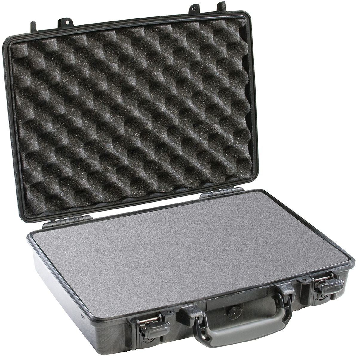 pelican locking case protective laptop briefcase