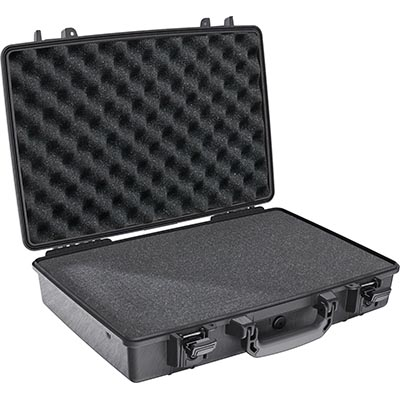 pelican 1490 protector black case with foam