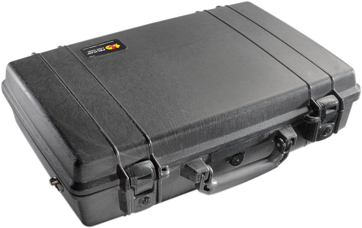 pelican 1490 hard briefcase laptop rugged case