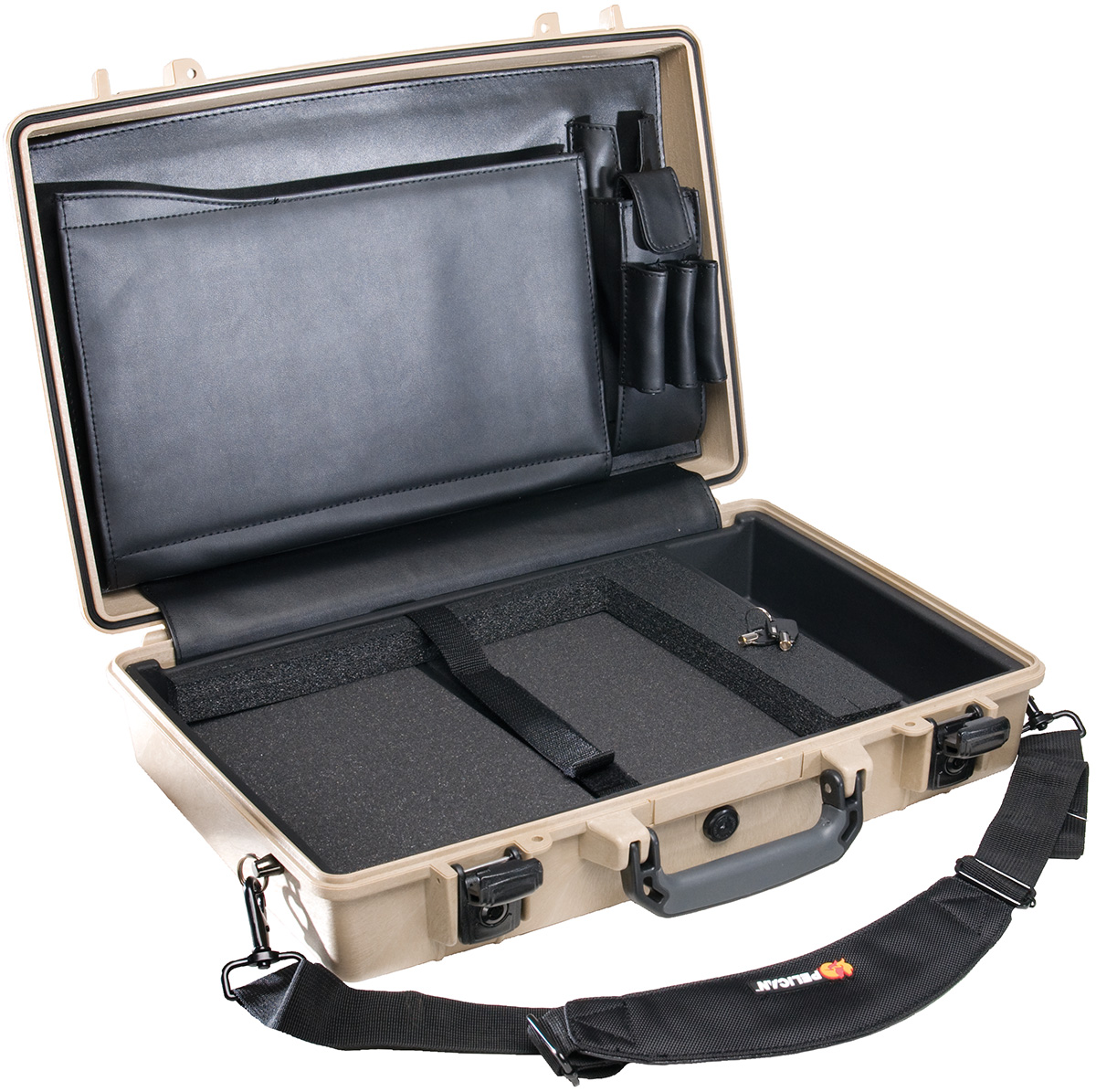 pelican 1490cc1 usa made hard laptop case briefcase