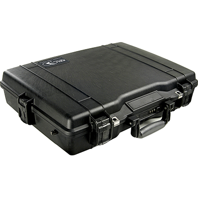peli pelican products 1495 watertight hard briefcase laptop case