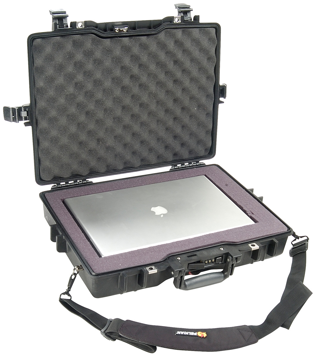 pelican secure laptop carry macbook case