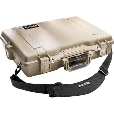 pelican 1495cc2 laptop hardback tan case