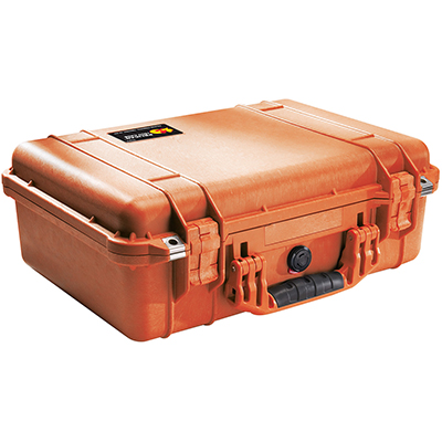 pelican 1500 orange camera protection case
