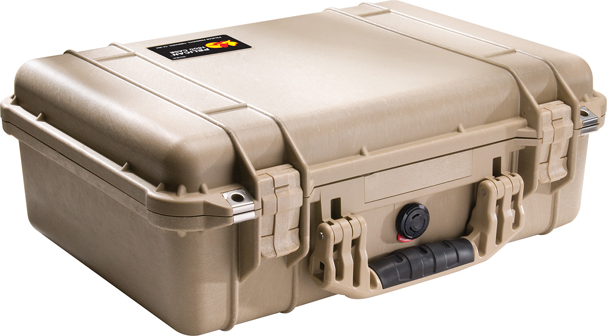 pelican 1500 tan photographer case