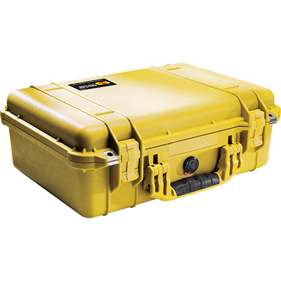 pelican 1500 yellow camera case