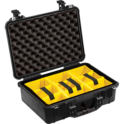 pelican camera cases padded dividers waterproof case