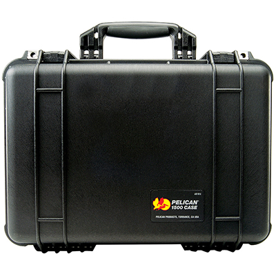 pelican protective travel camera lens case