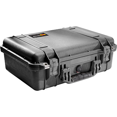 pelican waterproof lens photographer case