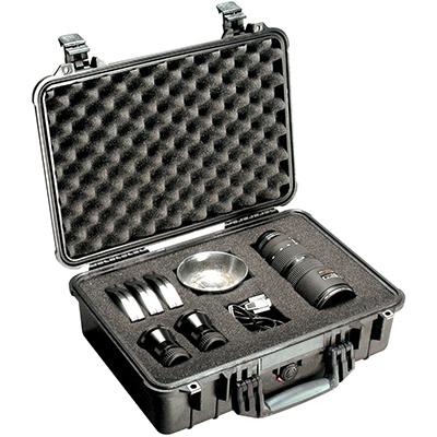 pelican watertight lens photographer case