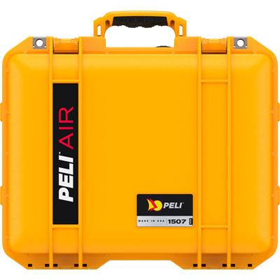 peli yellow 1507 travel case carry on
