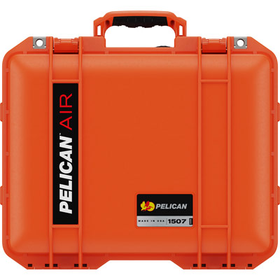pelican 1507 orange protective case
