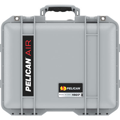 pelican 1507 silver watertight foam case