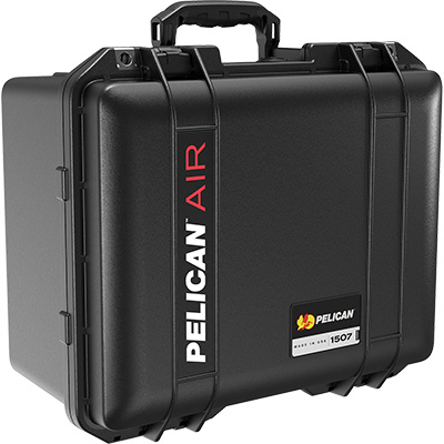 shop pelican air 1507 buy black watertight case