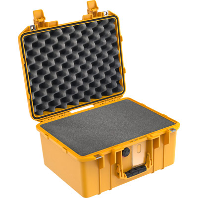 pelican air 1507 yellow foam case