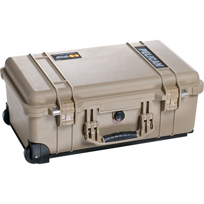 pelican 1510 desert tan watertight carry on case