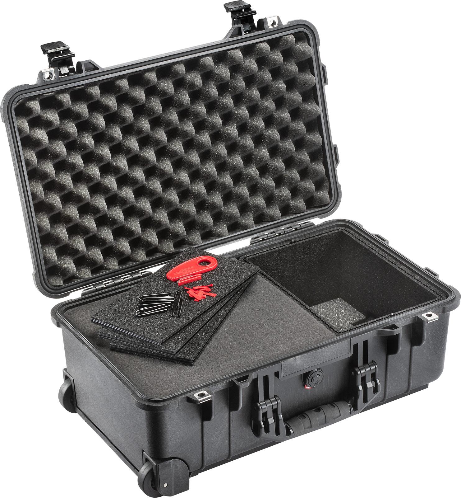 pelican 1510 hybrid case foam trekpak