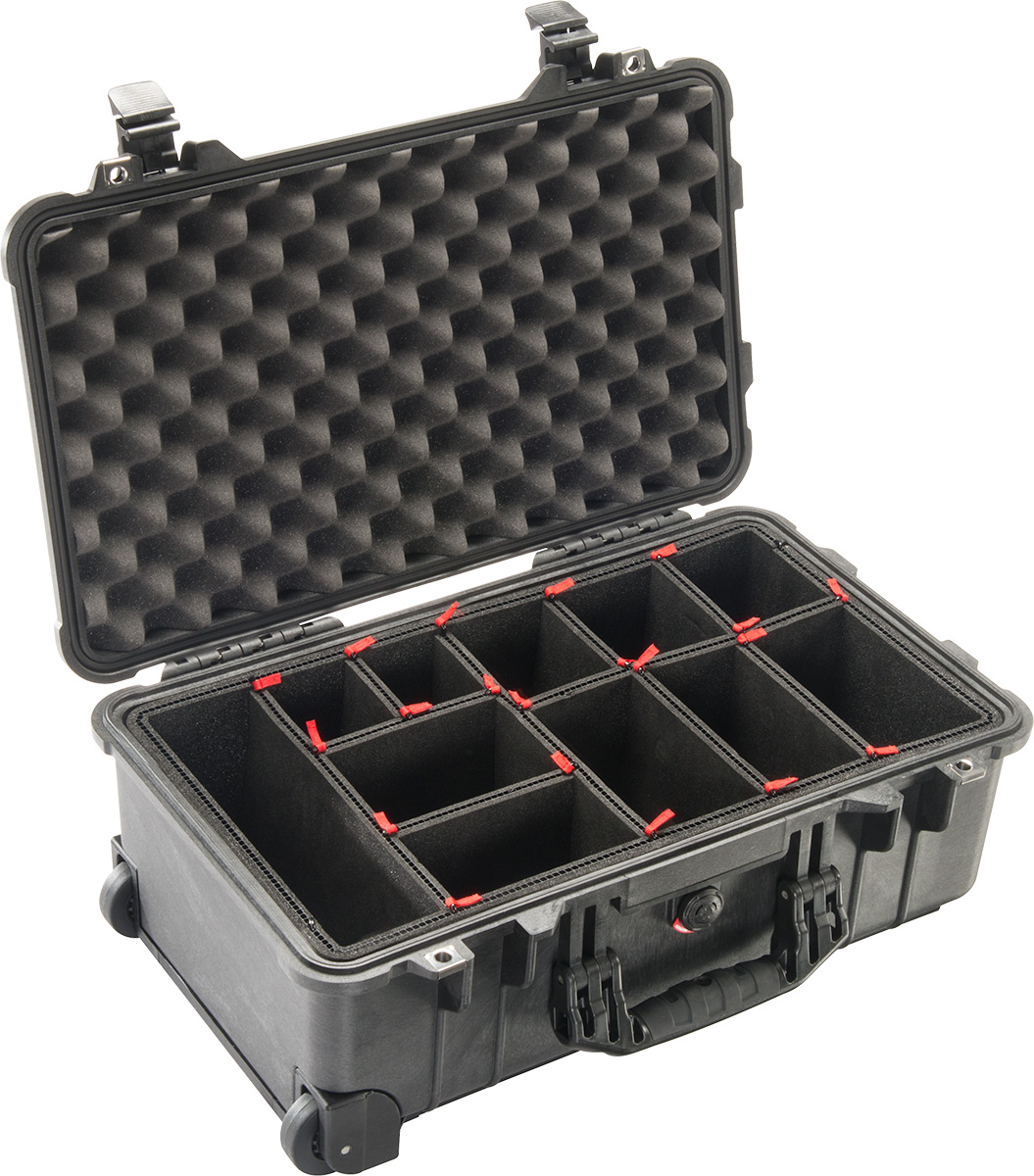 pelican 1510tp trekpak camera cases carry on hard case