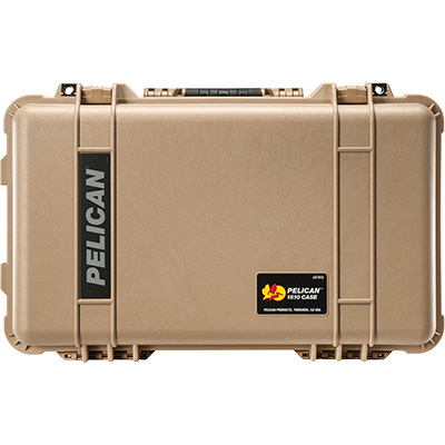 pelican 1510 desert tan case camera cases