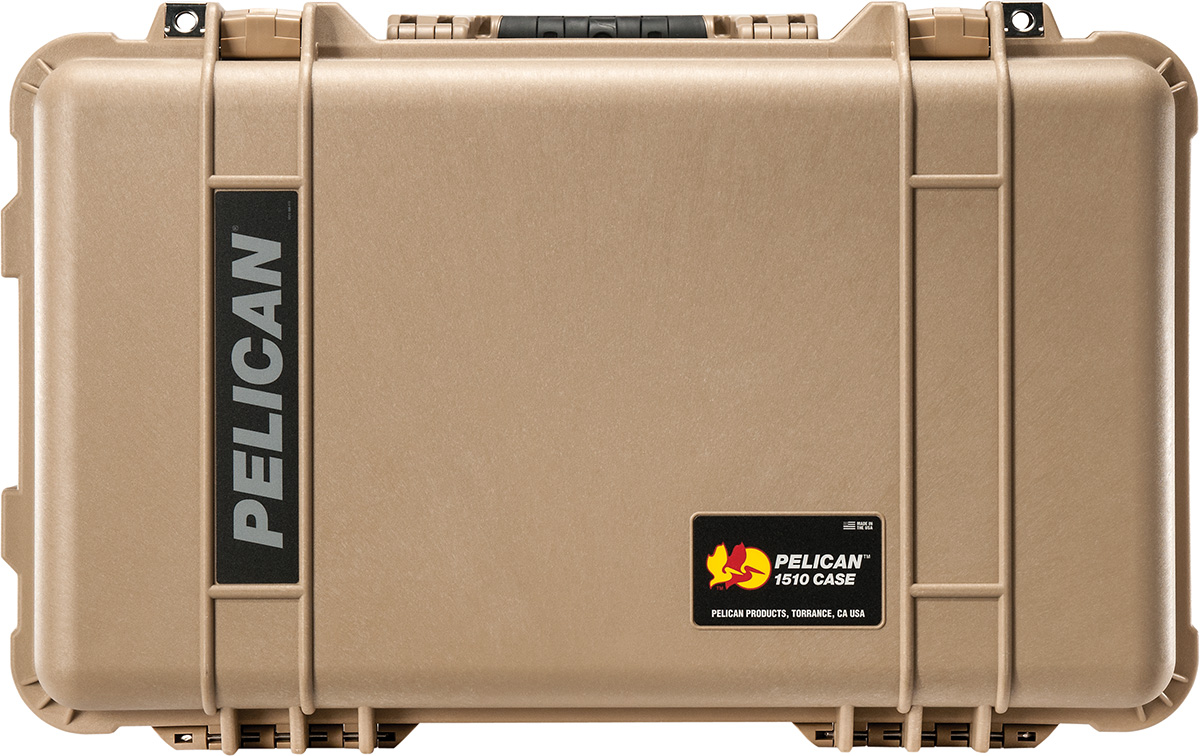 pelican desert tan 1510 case camera cases