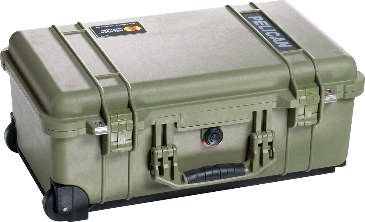 pelican od green 1510 case waterproof cases