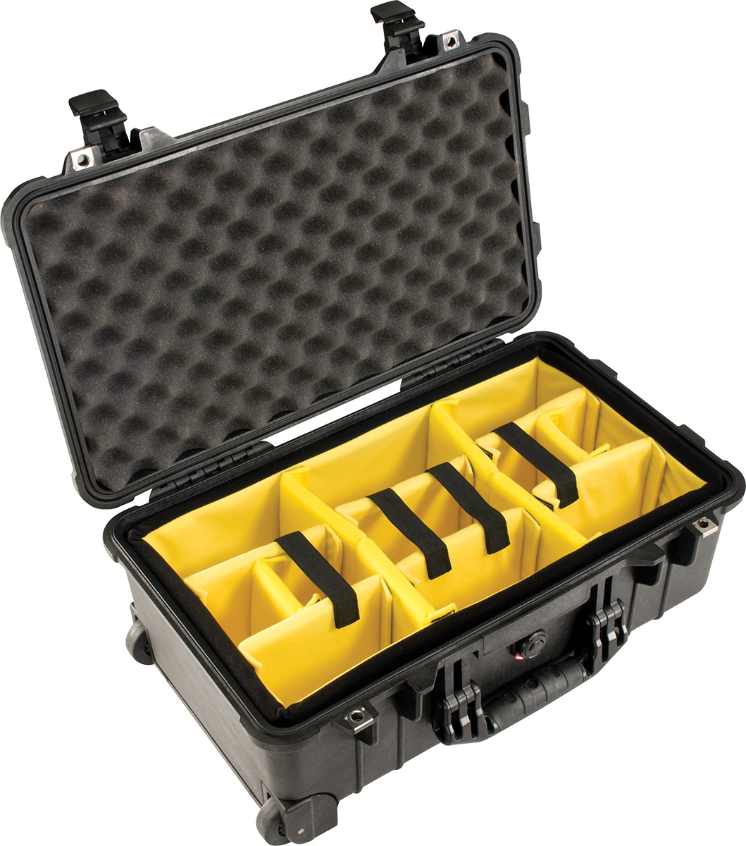 pelican carry-on camera case padded dividers camera cases