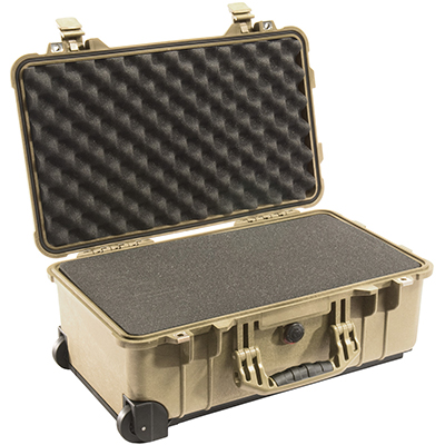 pelican 1510 protective travel carry on suit case