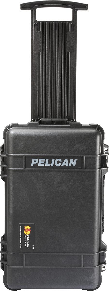 pelican 1510 rolling travel case extending handle