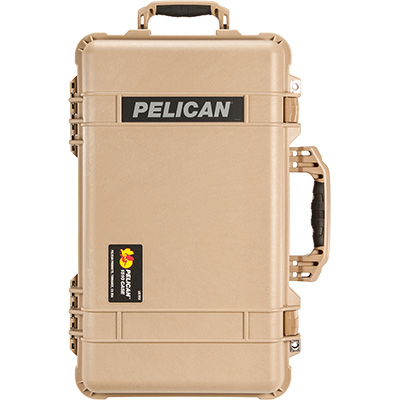 pelican 1510 travel camera hard case tan