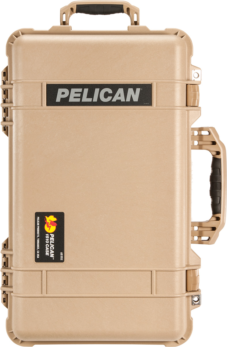 pelican travel camera hard case 1510 tan