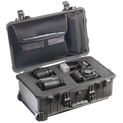 pelican 1510lfc professional rolling travel camera case