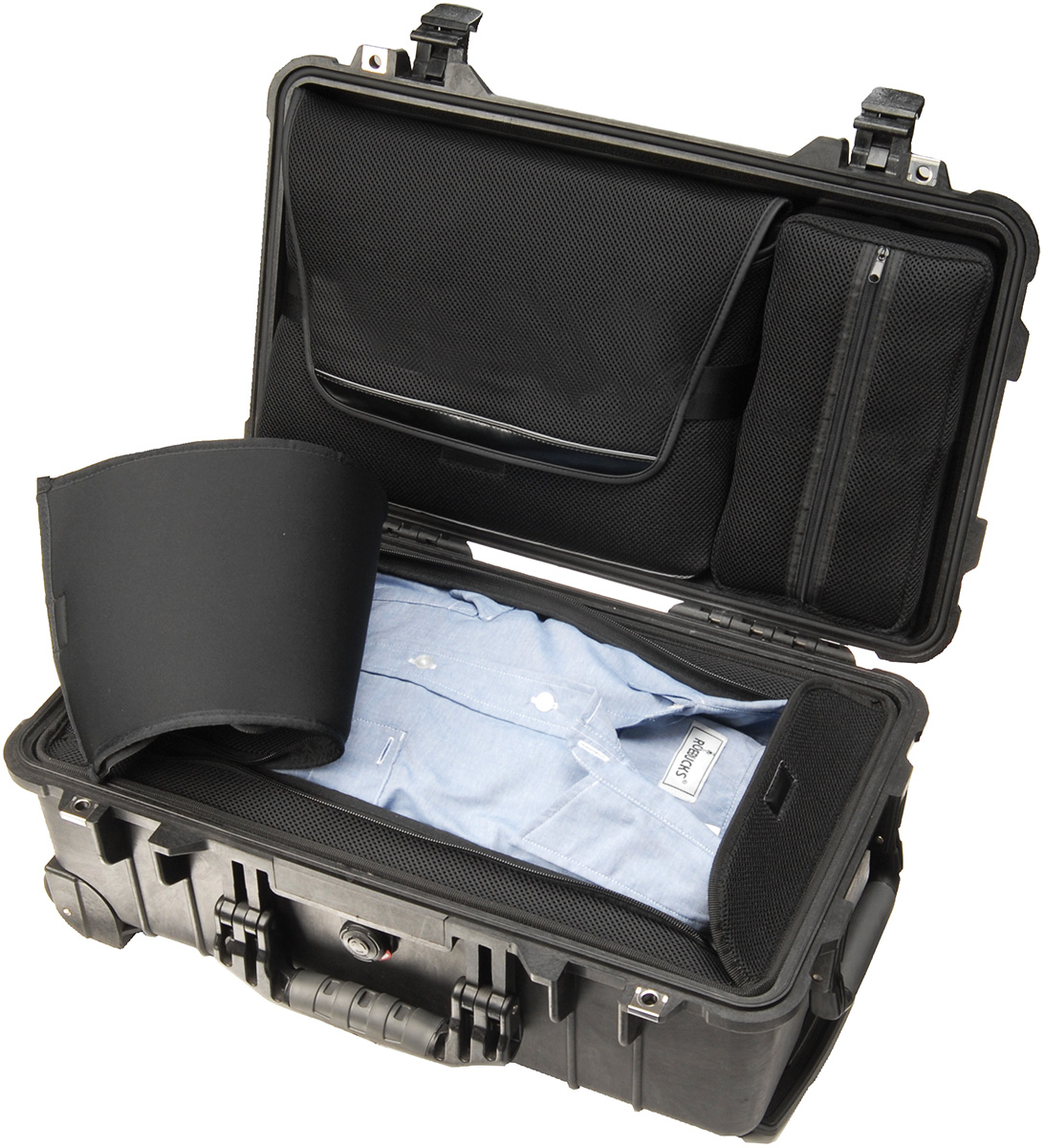 pelican 1510loc 1500 laptop luggage carryon case