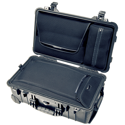 pelican hard suitcase travel laptop case