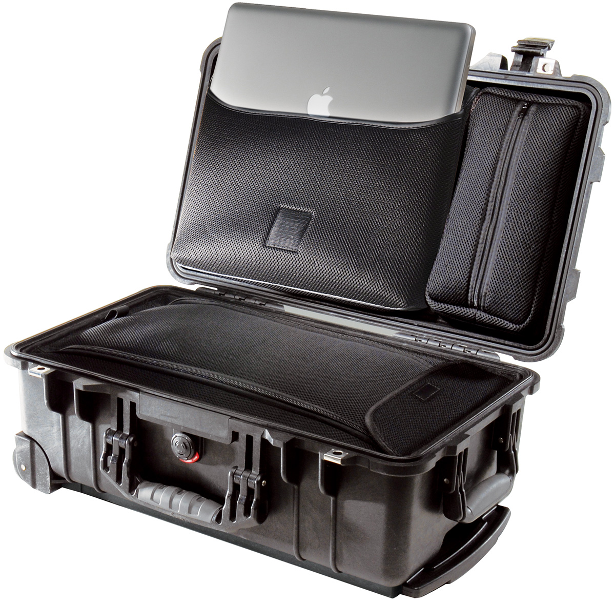 pelican 1510loc hard suitcase travel macbook case