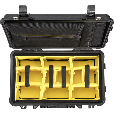 pelican 1510sc camera laptop rolling travel hard case