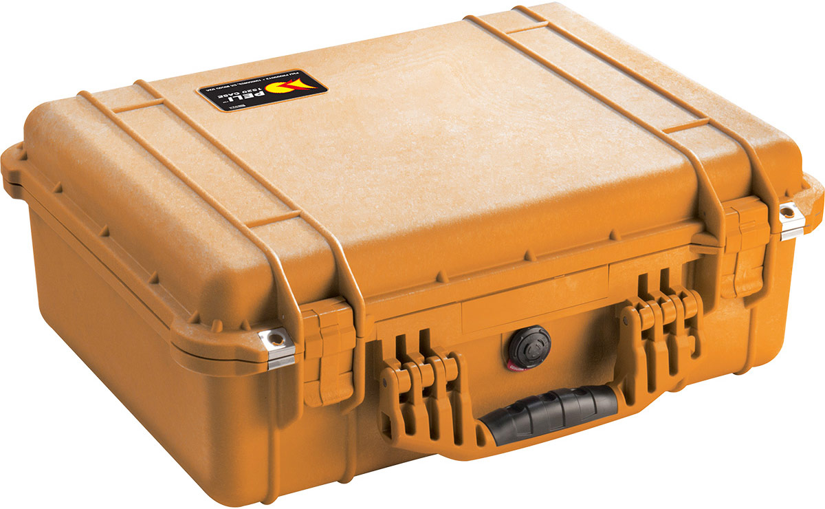 peli 1520eu orange watertight case