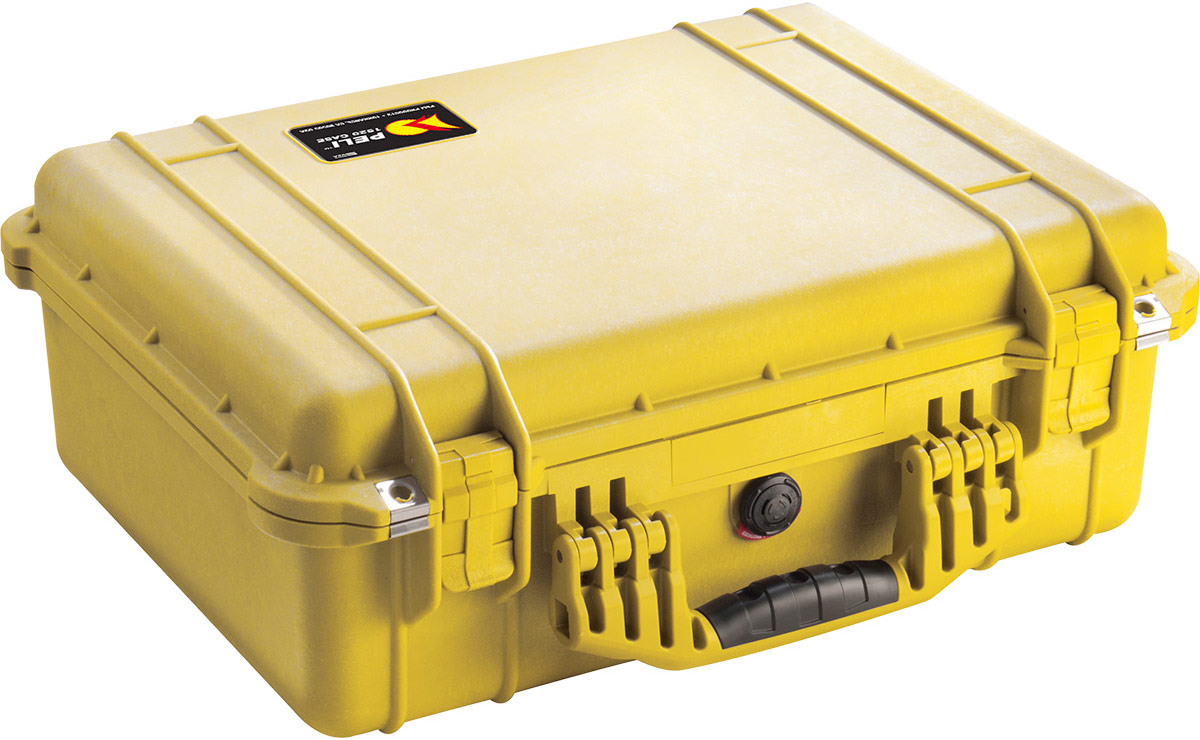 peli 1520eu yellow dustproof case