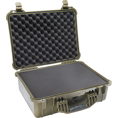 pelican 1520 green foam camera case