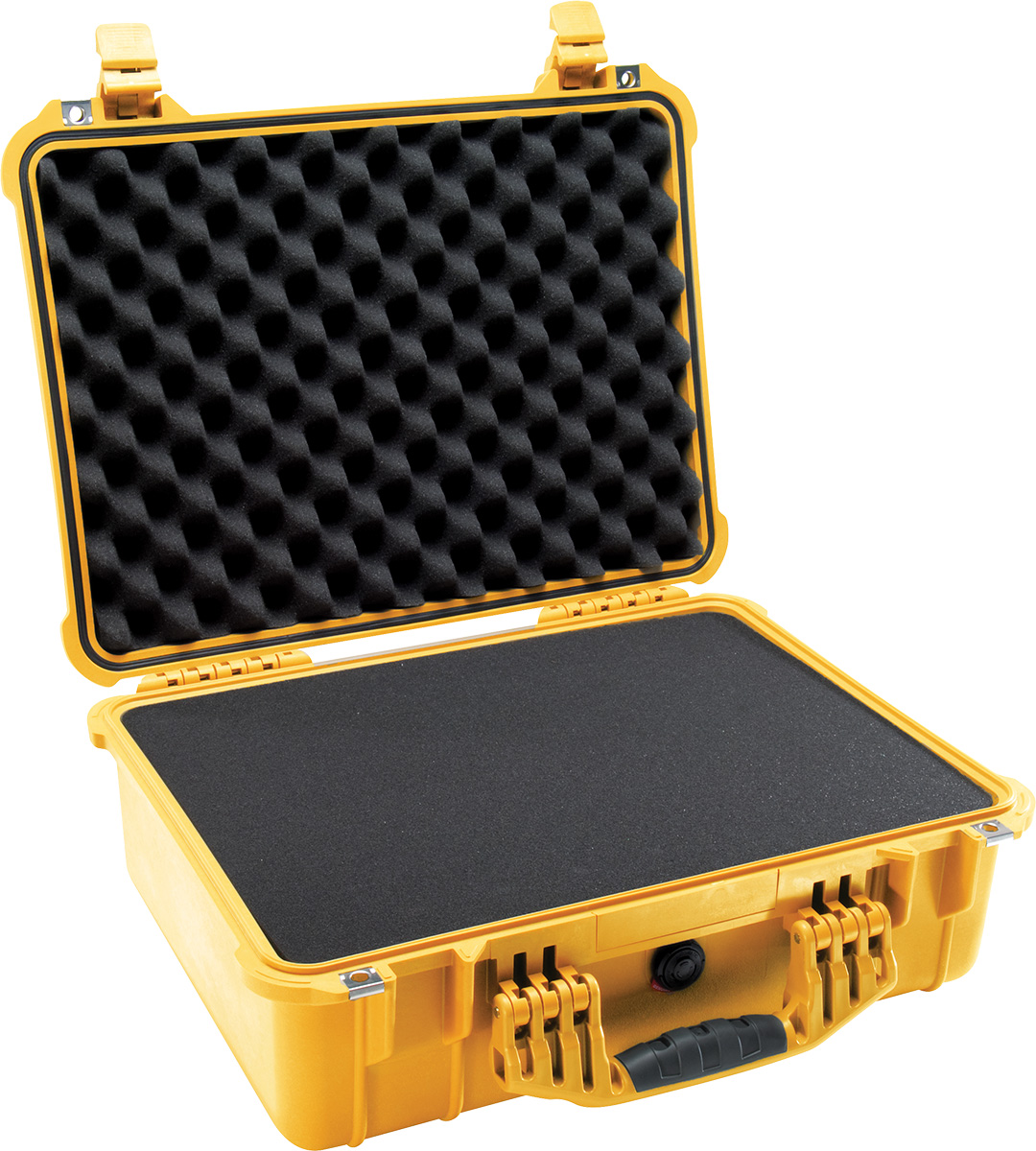 pelican 1520 yellow foam dustproof case