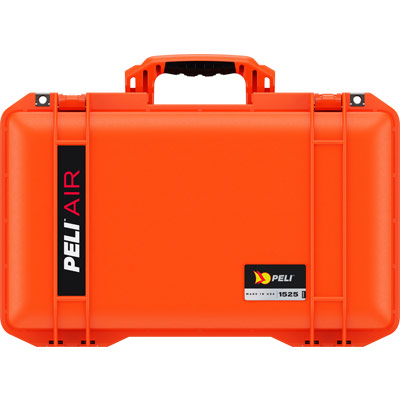 peli lightweight cases orange air case