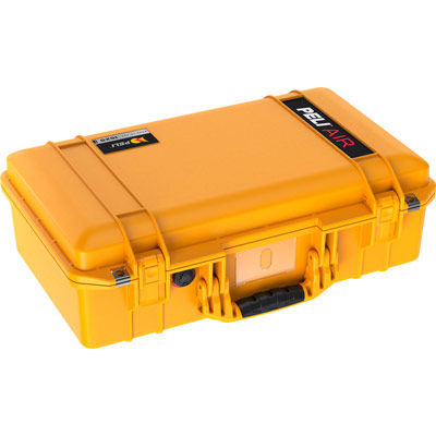 pelican 1525 yellow air cases case